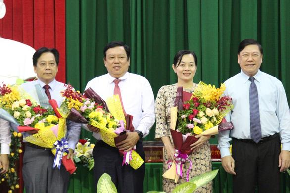 Giám đốc Sở Giao thông vận tải làm phó chủ tịch UBND tỉnh Vĩnh Long - Ảnh 1.