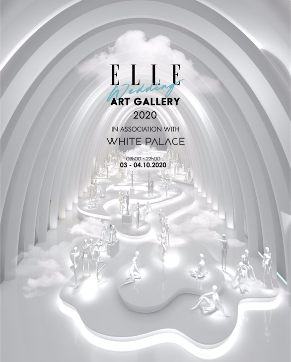 10 shows by Elle Wedding Art Gallery will open the Vietnamese fashion catwalk - Photo 1.