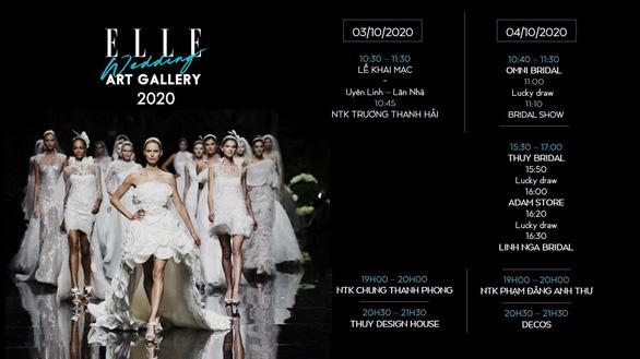 10 show diễn của Elle Wedding Art Gallery sẽ mở màn cho sàn diễn thời trang Việt - Ảnh 3.