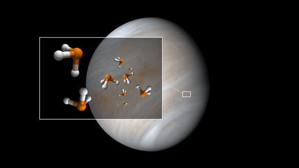 Phát hiện dấu hiệu của sự sống trong khí quyển sao Kim - Ảnh 1.