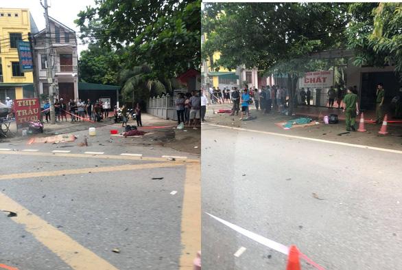 Ba cô gái tử vong sau va chạm với xe 7 chỗ, tài xế bỏ chạy - Ảnh 1.