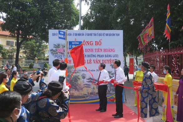 Đổi lại tên đường Lê Văn Duyệt nhân lễ giỗ lần thứ 188 của đức Tả quân - Ảnh 4.