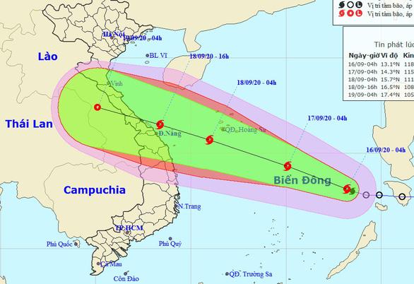 Bão Noul đã vào Biển Đông thành bão số 5, đang mạnh thêm - Ảnh 1.