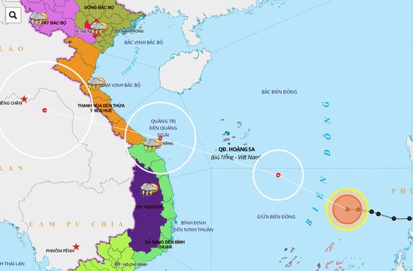 Chiều 18-9, bão số 5 tăng cấp độ vào đến bờ Trung Trung Bộ - Ảnh 2.