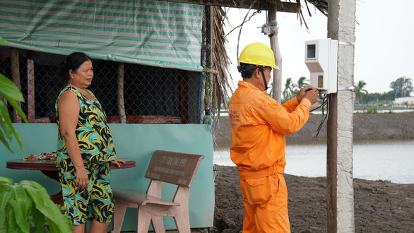 EVNSPC tăng cường hoạt động phòng chống tai nạn điện mùa mưa bão - Ảnh 2.
