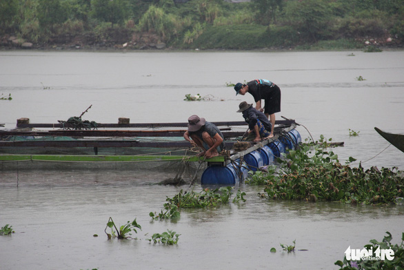 Vận động người nuôi cá lồng bè lên bờ tránh bão - Ảnh 6.