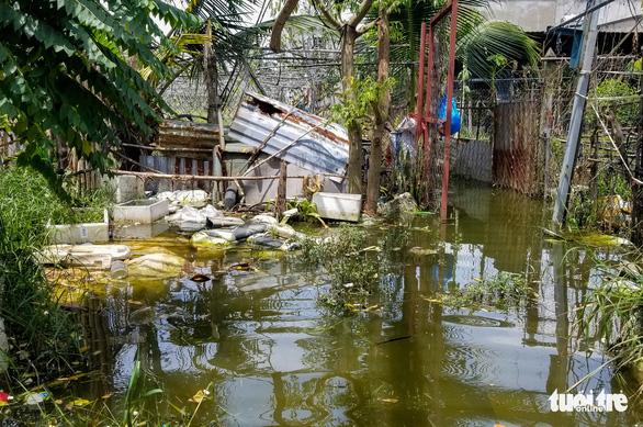 Ngập gì mà ngập hơn nửa tháng, dân Xuân Thới Đông có người đi nơi khác ở tạm - Ảnh 3.