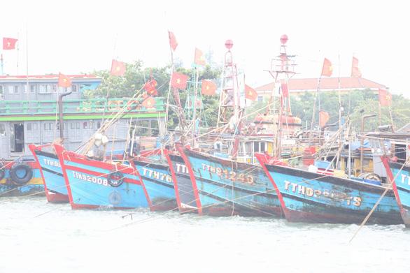 Cảng cá lớn nhất Thừa Thiên Huế hối hả trước giờ bão vào - Ảnh 8.