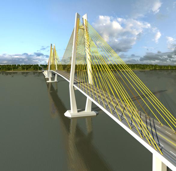 Các bộ đồng tình xây cầu Rạch Miễu bằng vốn ngân sách - Ảnh 1.