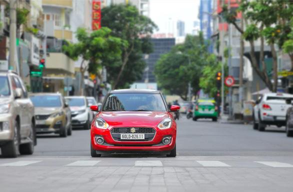 Suzuki Swift, sức hấp dẫn của chiếc xe đô thị năng động hiện đại - Ảnh 1.