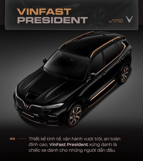 VinFast nâng tầm đẳng cấp với President - Ảnh 4.