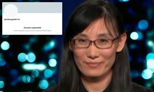 Twitter đình chỉ tài khoản học giả Trung Quốc nói corona xuất phát từ phòng thí nghiệm Vũ Hán - Ảnh 1.