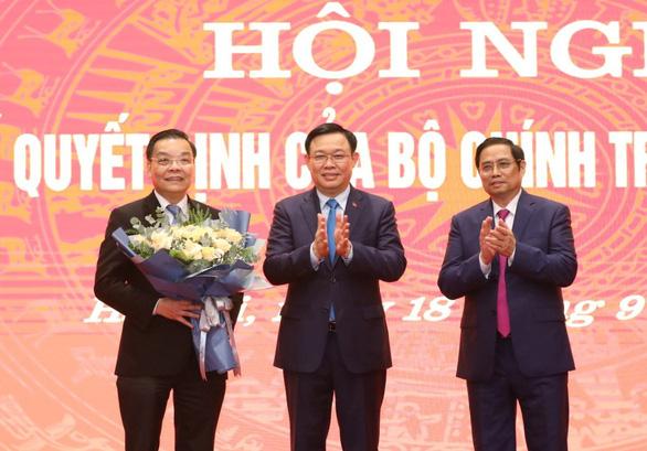 Phó bí thư Hà Nội Chu Ngọc Anh hứa tu dưỡng, lắng nghe người dân, doanh nghiệp - Ảnh 2.