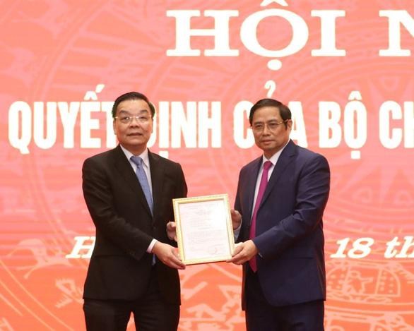 Phó bí thư Hà Nội Chu Ngọc Anh hứa tu dưỡng, lắng nghe người dân, doanh nghiệp - Ảnh 1.