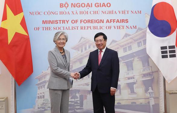 Việt Nam và Hàn Quốc bàn về Triều Tiên và Biển Đông - Ảnh 1.