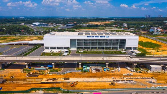 Từ 10-10, xe khách từ Quảng Trị trở ra xuất bến tại bến xe Miền Đông mới - Ảnh 1.