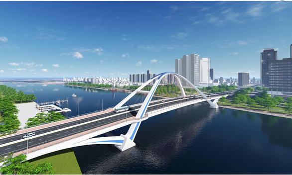 Xây cầu Trần Hoàng Na tạo điểm nhấn cho trung tâm Cần Thơ - Ảnh 1.