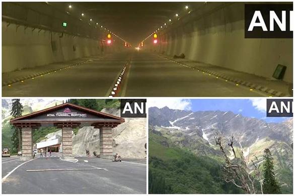 Ấn Độ xây đường hầm gần biên giới Trung Quốc, rút ngắn thời gian chỉ còn 10 phút - Ảnh 1.