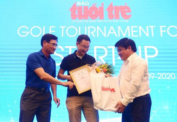 MimosaTek đoạt giải đặc biệt 100 triệu đồng của Golf for Start-up 2020 - Ảnh 1.