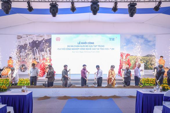 Dự án bò sữa lớn nhất Tây Nguyên đồng hành cùng nông dân vùng biên giới - Ảnh 1.