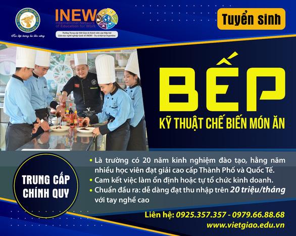 Nghề bếp ngày càng thu hút đông đảo bạn trẻ theo học - Ảnh 2.