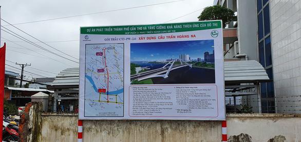 Xây cầu Trần Hoàng Na tạo điểm nhấn cho trung tâm Cần Thơ - Ảnh 2.