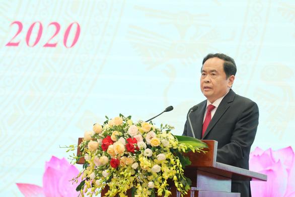 Đại hội Thi đua yêu nước Mặt trận Tổ quốc Việt Nam lần đầu làm trực tuyến - Ảnh 2.