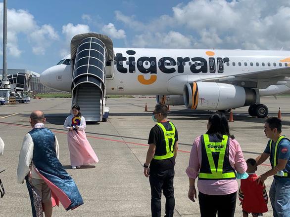 Đài Loan mở chuyến bay đến Hàn Quốc cho khách ngắm cảnh rồi... bay về - Ảnh 1.