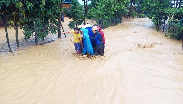 Quảng Nam: Lũ quét gây thiệt hại nặng cho miền núi, hơn 130 điểm sạt lở đường - Ảnh 4.