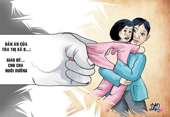 Con gái muốn ở với mẹ, tòa xử giao cho cha - Ảnh 1.
