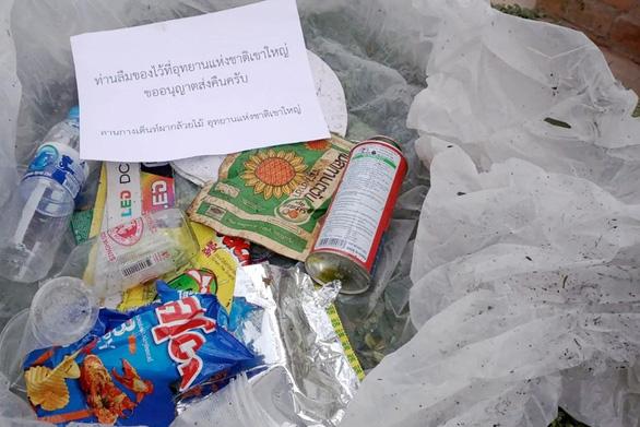 Quên rác ở vườn quốc gia Thái Lan, du khách sẽ được gửi trả tận nhà - Ảnh 1.