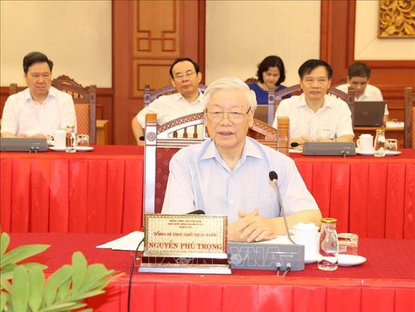 Tổng bí thư, Chủ tịch nước: Yêu cầu với Hà Nội phải cao hơn các địa phương khác - Ảnh 2.