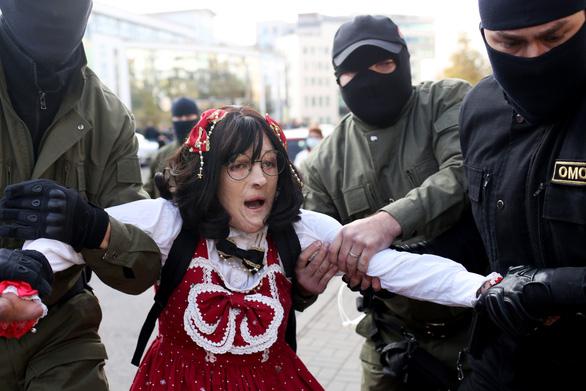Tin tặc phát tán thông tin cảnh sát Belarus để trả đũa việc bắt giữ người biểu tình - Ảnh 1.