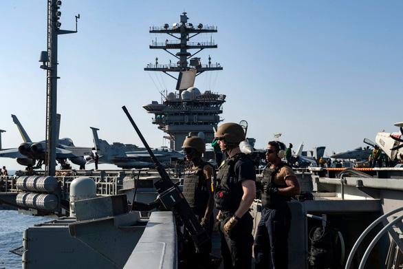 Đơn phương đòi trừng phạt Iran, Mỹ bị đồng minh EU phản đòn - Ảnh 1.