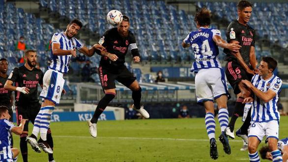 Real bị cầm chân trong trận đầu tiên ở La Liga mùa giải mới - Ảnh 1.