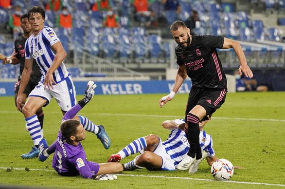 Real bị cầm chân trong trận đầu tiên ở La Liga mùa giải mới - Ảnh 3.