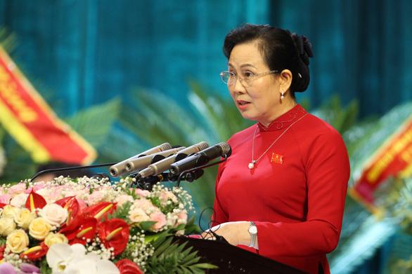 Bà Lê Thị Thủy tái giữ chức bí thư Tỉnh ủy Hà Nam - Ảnh 1.