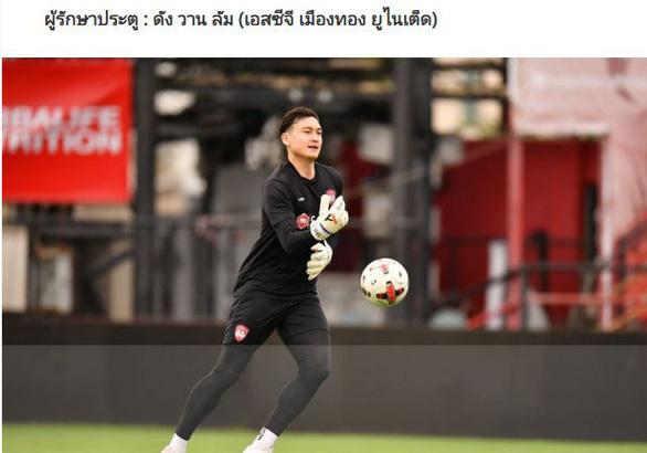 Thủ môn Văn Lâm được chọn vào đội hình tiêu biểu của Thai League - Ảnh 1.