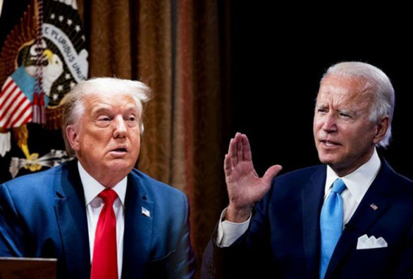 Ông Trump mạt sát ông Biden ngu xuẩn nhất, xài chất kích thích để sung - Ảnh 1.
