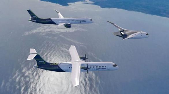Airbus tiết lộ 3 mẫu thiết kế máy bay thương mại sạch - Ảnh 1.
