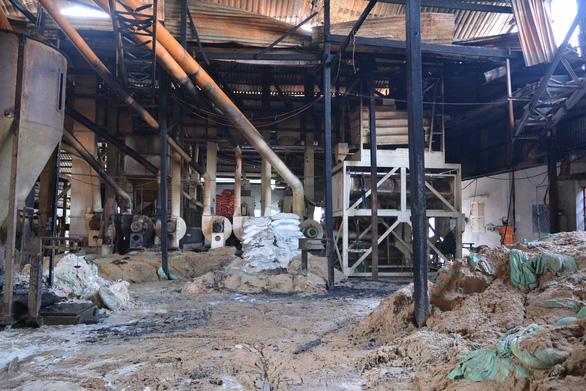 Cháy nhà máy xay lúa, ước thiệt hại khoảng 10 tỉ đồng - Ảnh 1.