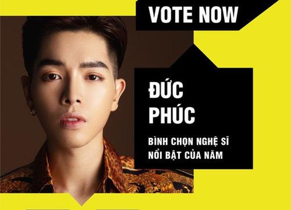 Jack, Amee, Binz, Đức Phúc, Han Sara, Hoàng Thùy Linh vào bảng đề cử MTV Việt Nam - Ảnh 3.