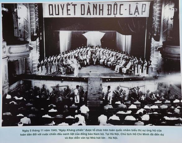 Khai mạc triển lãm kỷ niệm 75 năm ngày Nam bộ kháng chiến - Ảnh 6.