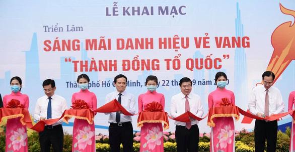Khai mạc triển lãm kỷ niệm 75 năm ngày Nam bộ kháng chiến - Ảnh 3.
