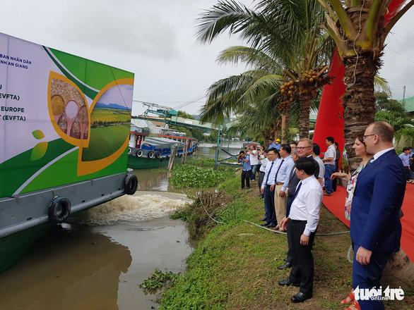 Xuất khẩu lô gạo thơm đầu tiên sang Châu Âu theo Hiệp định EVFTA - Ảnh 3.