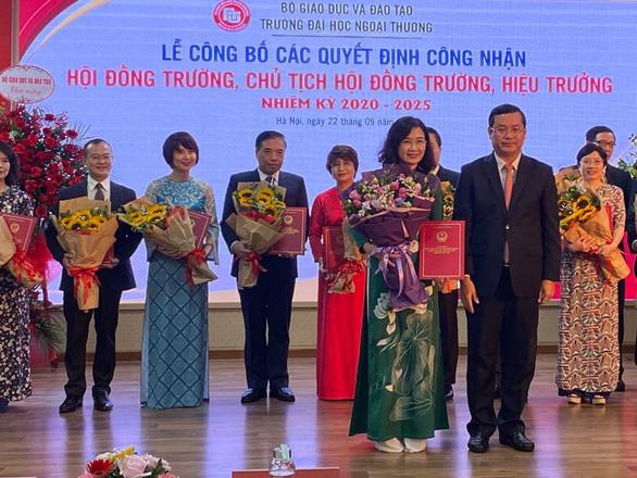 PGS.TS Bùi Anh Tuấn tiếp tục là hiệu trưởng Trường ĐH Ngoại thương - Ảnh 2.