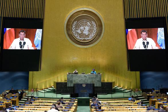 Tổng thống Philippines đưa phán quyết Biển Đông năm 2016 ra Liên Hiệp Quốc - Ảnh 1.