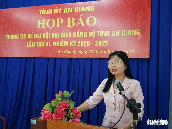 5 đại biểu làm đơn xin rút không dự đại hội Đảng tỉnh An Giang - Ảnh 1.