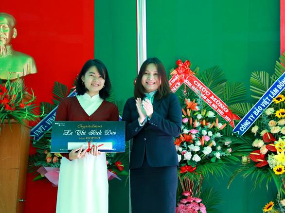 Nữ sinh Đà Lạt giành học bổng 'khủng' vào Đại học Quốc tế Sài Gòn - Ảnh 1.