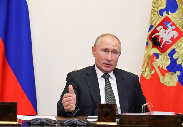 Ông Putin kêu gọi Mỹ thỏa thuận không can thiệp vào bầu cử của nhau - Ảnh 1.